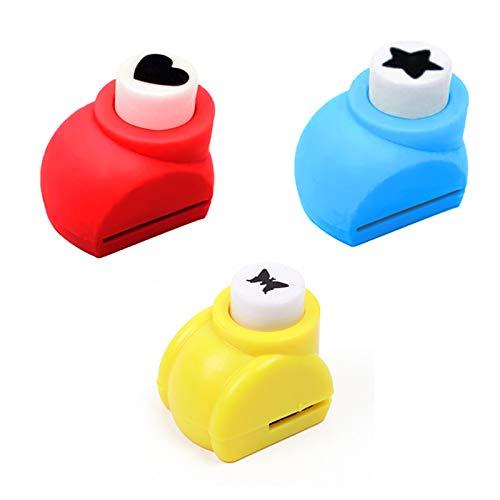 JIESD-Z 3 STKS DIY Apparaat Ponsen, Gereedschap Papier Puncher Handgemaakte Ambachten voor Scrapbook Gift Card