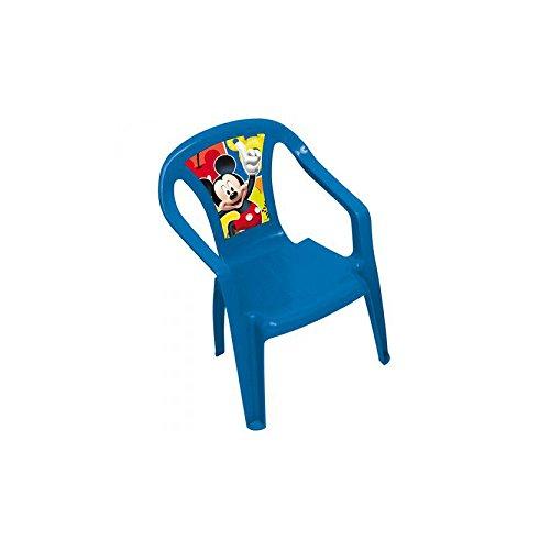 Arditex wd7967–Sedia di plastica Monoblock, motivo Topolino