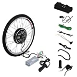 Uniqueheart 48V 1000W High Power Electric Bicycles E-Bike 26inch Front Wheel Conversion Kit Cycling Motor Set Best Replacement