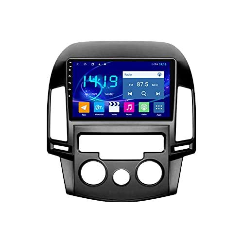 Hy-un-dai I30 2006-2011 coche Radio Stéreo Android 10.0 Multimedia Audio Player FM Reproductor GPS Navegación IPS Pantalla Táctil Soporte 4G+Wifi/SWC/Carplay/Bluetooth/DSP,4 Core WiFi: 1+16GB