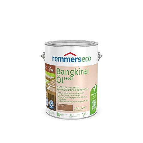 Remmers Gartenholz-Öle [eco] Holzpflege Möbelpflege (2,5 l, Bangkirai-Öl)