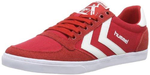hummel Unisex-Erwachsene Slimmer Stadil Low Hausschuhe, Rot (Ribbon RED), 38