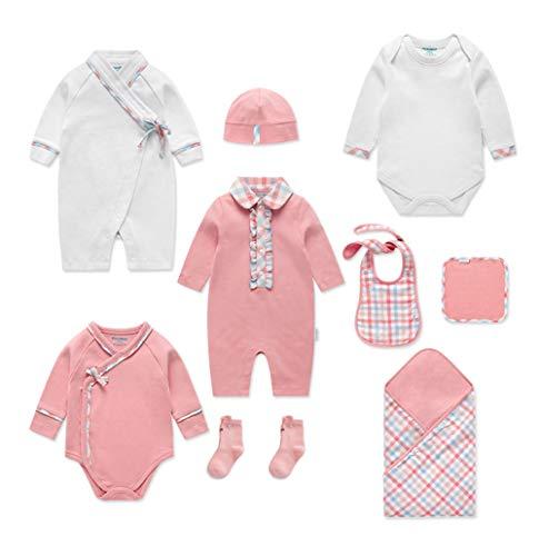 Baby Clothes Vêtements de bébé Coton Nouveau-né Coffret Cadeau Le bébé est né Fournitures Spree Design sophistiqué Mode Mignon Produit Pratique de première Classe