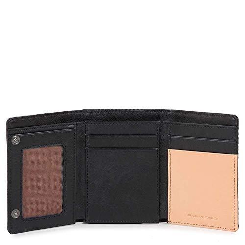 Piquadro opvouwbare portemonnee met ID-venster
