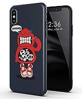 Attract iphone X/XS ケース 悪魔 キャラクター かっこいい かわいい アニメ おもしろ TPU アイフォンケース 傷防止 スリム軽量 レンズ保護 耐衝撃 指紋防止 アイフォン ソフトケース カバー 専用 case スマホケース (iphone X/XS)