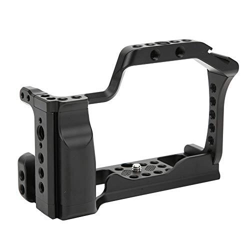 Topiky Jaula de cámara para Canon EOS M50/M5, Bastidor estabilizador de expansión de Carcasa Protectora de Marco de aleación de Aluminio con manija y Montaje de Zapata fría de Tornillo de 1/4'3/8 ''