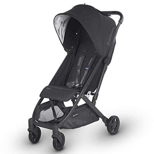 Product Image of the 2018 UPPAbaby MINU Stroller - Jake (Black Melange/Carbon/Black Leather)