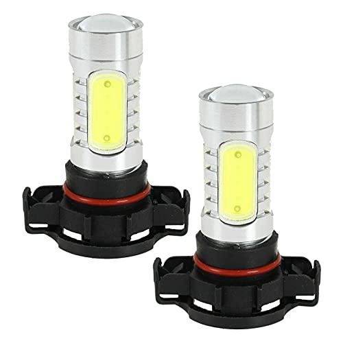 Dankera H16 5202 6000K LED Fog Light Bulbs Super Bright H16 LED Bulb High Power 20W 12V LED 5202 Bulb for Signal Turn Brake Parking Tail DRL Fog Lights