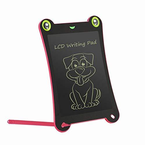 BXGZXYQ Kinder-LCD-Tablet 8,5-Zoll-Graffiti-Zeichenbrett Leichte elektronische Tablette Digital Board Drawing Pad (Farbe : ROT)