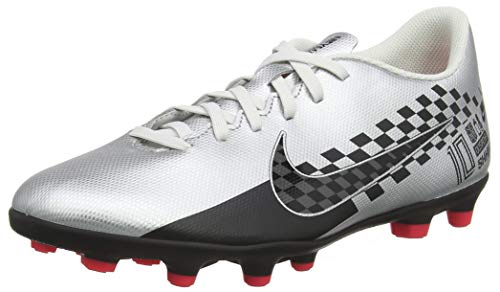 Nike Unisex Footbal Shoes, Multicolour Chrome Black Red Orbit Platinum Tint 006, 7.5 US Men