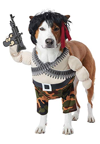 Action Hero Pet Costume Small
