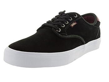 Vans Chima Ferguson Pro  Black/Mahogany  Mens Skate Shoes-7