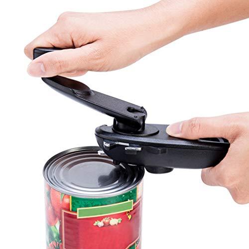ZTT 8-in-1 Hand Flaschenöffner, Multifunktionale tragbare Flasche Edelstahl-Dosen Blatt-Öffner-Küche-Werkzeug