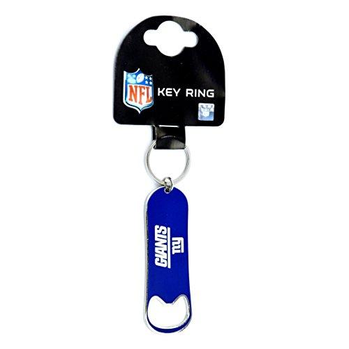 Forever Collectibles New York Giants Flaschenöffner NFL Schlüsselanhänger