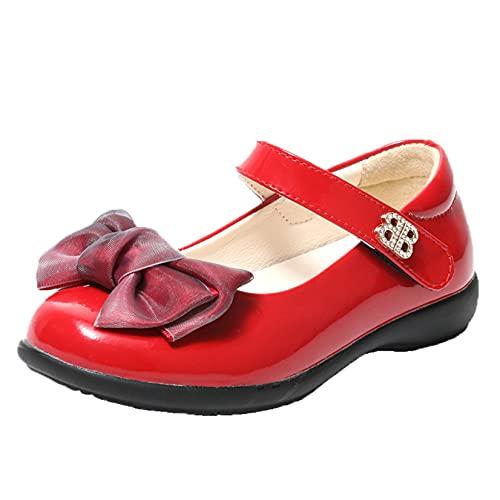 Zapatos Mary Jane para niñas Transpirables Antideslizantes de Color sólido Casuales con...