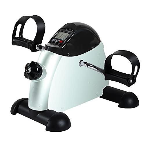 Under Desk Bike Pedal Exerciser - TABEKE Mini Exercise Bike for...