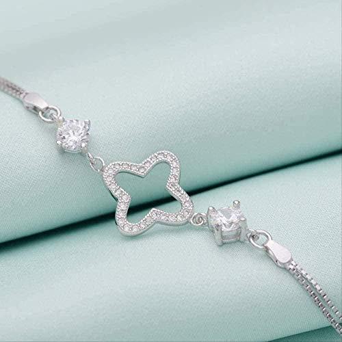 ZHIFUBA Co.,Ltd Collar Collar Joyería de Moda Pulsera Accesorios de Mano para Mujer Pulsera Ajustable Regalo para Mujeres y niñas