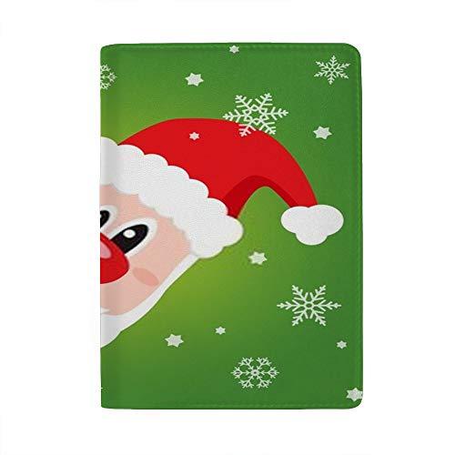 Chehong - Soporte para Pasaporte de Navidad con Funda Impermeable para Pasaporte...