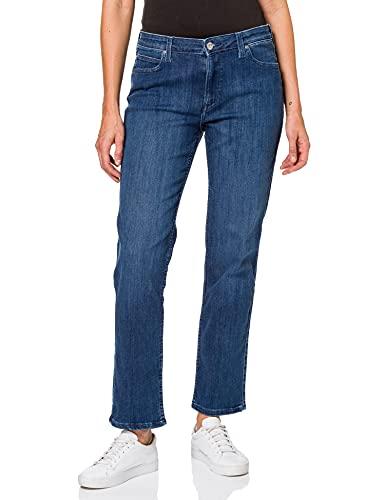 Lee Marion Straight Jeans, Usage Moyen, 36W x 33L Femme