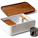 Cubbi Stash Box with Rolling Tray - Silicone Airtight Seals - 100% Smell Proof Stash Box with Accessories + Includes Herb Grinder