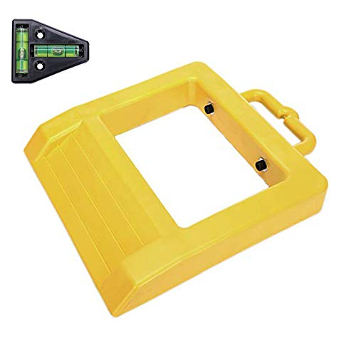 Homeon Wheels Pallet Truck Chock Heavy Duty Pallet Jack Stopper 14.2' Length x 11.6' Width x 2' Height Yellow (1 Pack) One T Level
