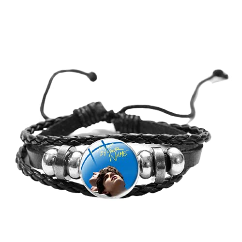 Pulsera Call Me by Your Name LGBT Movies Poster 3D Impreso Cristal Snap Button...