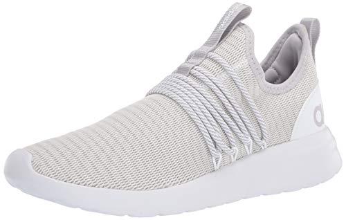 adidas Men's LITE Racer Adapt Running Shoe, White/Grey/Light Granite, 8