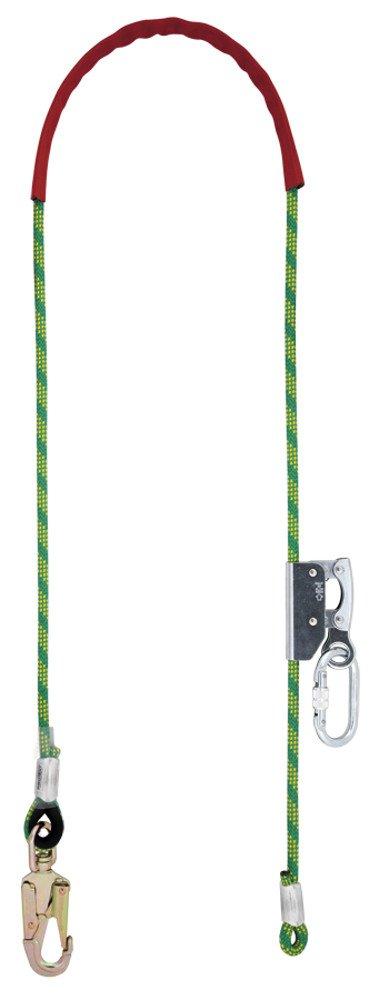 TreeUp cavo corde sicurezza fusibile Prot 40 AF 140 Lunghezza 2 metri con anima in acciaio