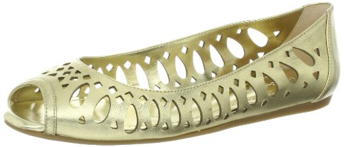 BCBGeneration Women's Abygal Flat,Gold,7 M US