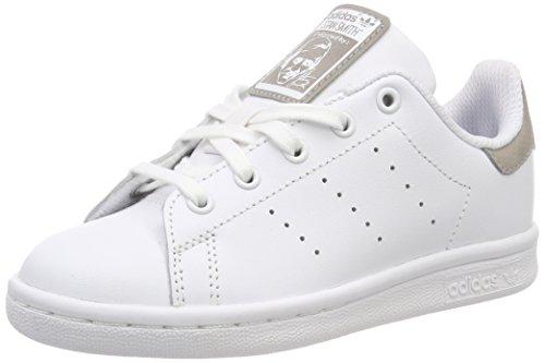 adidas Stan Smith, Baskets Mixte, Blanc (Footwear White/Footwear White/Footwear White 0), 38 EU