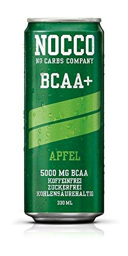 nocco BCAA Drink incluso pfand–Fragranza Mela–No Carbs Company Fitness Drink