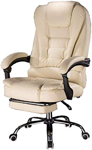 Cozy Ofiice Chair Gaming chair Computer Chair Task Chair Executive Recline with High Back and Tilt Function Ultimate Recliner Vibration massage waist PU Black