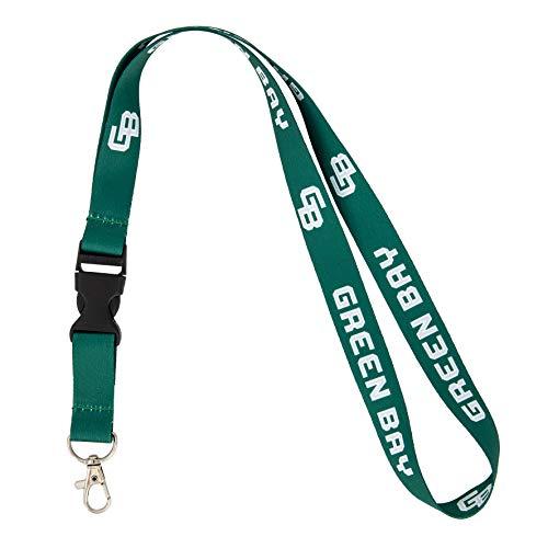 University of Wisconsin-Green Bay UWGB Phoenix NCAA Car Keys ID Badge Holder Lanyard Keychain Detachable Breakaway Snap Buckle