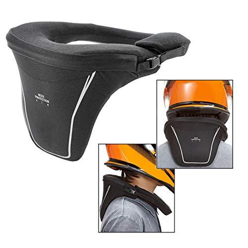 Cirdora Motorrad Nackenstütze Nackenschutz Motorrad Nackenprotektor Nackenschutz Reiten Verstellbarer Befestigungsgurt Zur Verwendung Mit Verschiedenen Motorradjacken