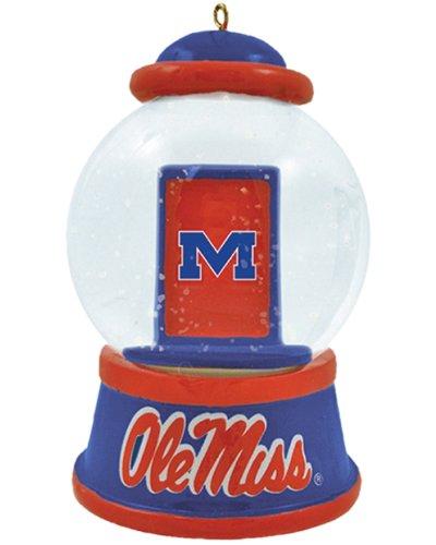NCAA Mississippi Rebels Mini Waterball Ornament