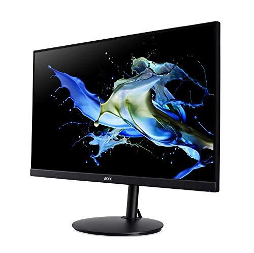 Acer CB2 (CB272bmiprx) 69 cm (27 Zoll) IPS ZeroFrame Monitor Matt (HDMI, DP, VGA, FHD 1920x1080, 1ms (VRB), 75Hz, 250 Nits, HDR, Höhenverstellbar, Pivot, FreeSync)