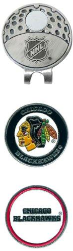 NHL Cap Clip avec 2 Marqueurs de Balle de Golf, Homme Mixte Femme, 13547, Team Color