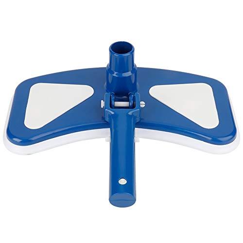 Fdit 12  Azul y Blanco Piscina Aspiradora Cabezal de succión giratoria Aspiradora Cabezal Cepillo Herramientas para Piscina