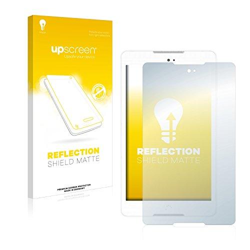 upscreen Entspiegelungs-Schutzfolie kompatibel mit BQ Aquaris M8 – Anti-Reflex Bildschirmschutz-Folie Matt