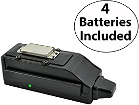 As Seen on Breaking Bad - Land Air Sea NEW 1515 Magnetic Wireless Pocket-Sized Tracking Key ll Gps System Compatible with Mac and PC with Four FREE Batteries