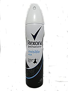 REXONA WOMEN MotionSense INVISIBLE AQUA 48h ANTI-PERSPIRANT SPRAY 5.0 Oz/150 ml