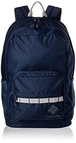 Columbia Sac à dos, Zigzag 30 L 1890031 Mixte Adulte, Bleu (Collegiate Navy), Taille unique