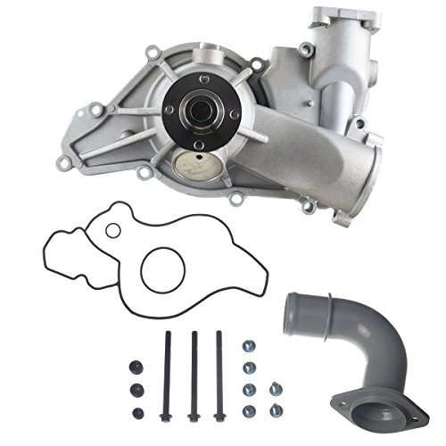 A-Premium Engine Water Pump Replacement for Ford E-350 E-450 E-550 F-250 F-350 F-450 F-550 Super Duty Excursion F59 V8 7.3L Turbo Diesel OHV Engine