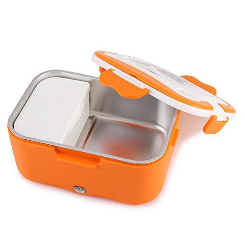 Fiambrera eléctrica de 1,5 l portátil eléctrica de la caja de almuerzo del coche de calefacción eléctrica del envase de alimentos calentador de almuerzo termostático bento caja