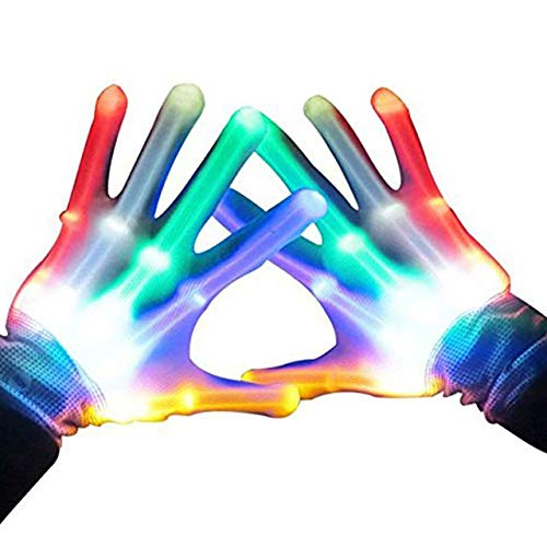 ATOPDREAM 10-13 Year Old Boys Girls Toys, Light Up Gloves for Kids Girls Boys Toys Birthday Gifts for 10-13 Year Old Boys Girls Kids Sensory New Toys 2020 for Boys Girls Stocking Fillers