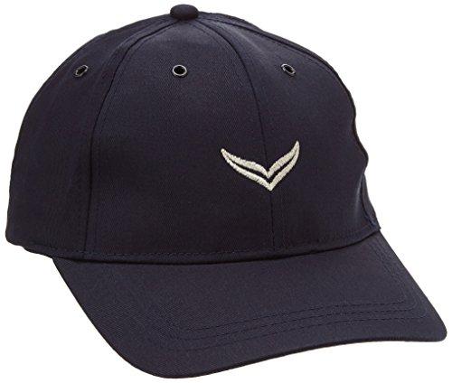 Trigema Herren 600005 Baseball Cap, Blau (Navy 046), Large (Herstellergröße: 3)