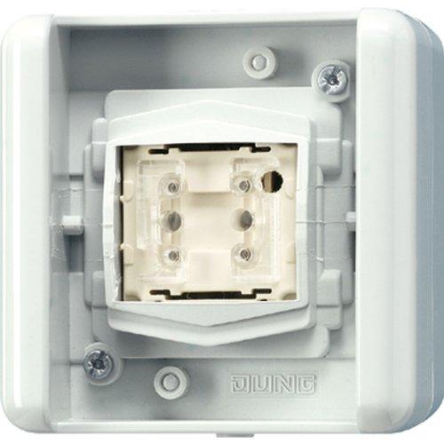 JUNG 8471.01 LED W Blanco interruptor de luz - Interruptores de luz (palanca, Blanco, 1 pieza(s))