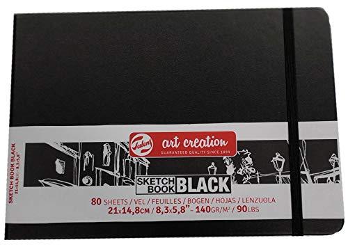 SKETCH BOOK BLACK ARTCREATION 21 x 14,8 cm paysage