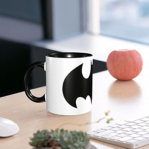 Taza perfecta para desayuno y merienda Batman The E Caffè Idea regalo 330 ml apta para microondas y lavavajillas Paquete decorado