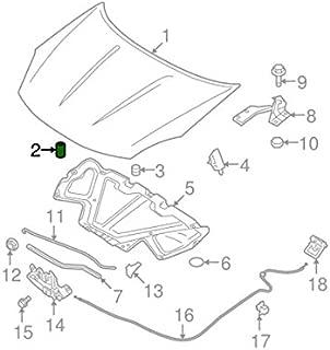Nissan 01658-00941 OEM Trunk Lid Side Rubber Bumper Nissan 240SX S14 1995-1998